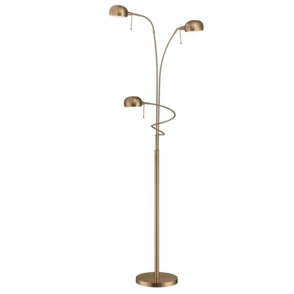 Lite Source Denzel 3-light Floor Lamp