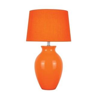 Lite Source Maya 1-light Table Lamp Orange