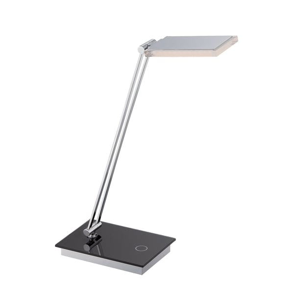 Lite Source Luke 1-light Table Lamp Black with Chrome
