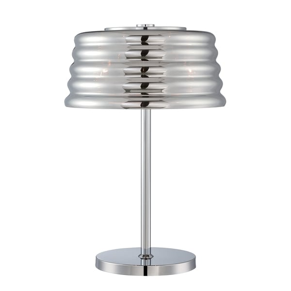 Lite Source Venice 3-light Table Lamp Chrome