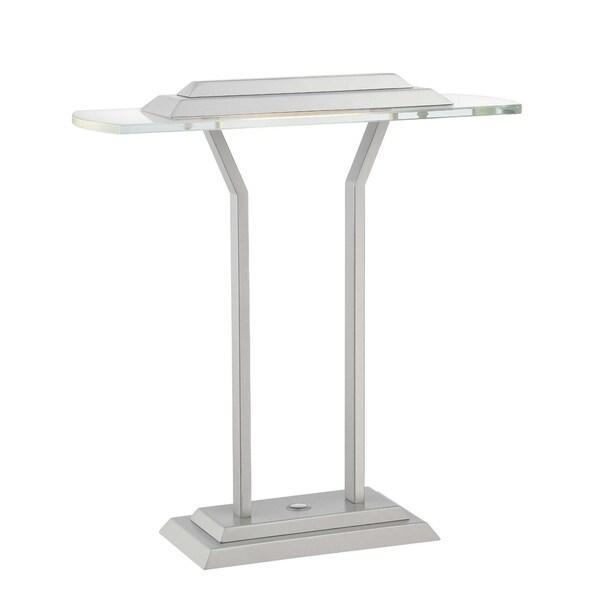 Lite Source Slate 1-light Table Lamp Silver