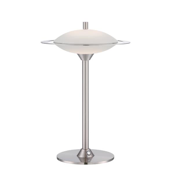Lite Source Obert 1-light Table Lamp Polished Steel