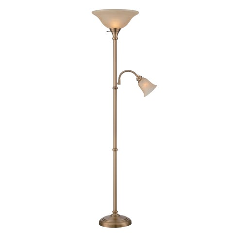 Lite Source Henley 2-light Torchier or Reading Lamp