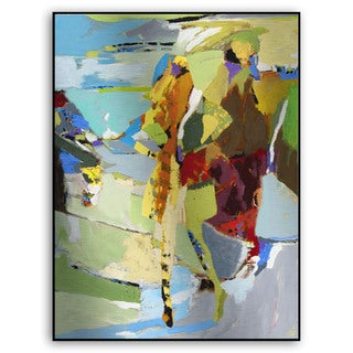 Gallery Direct M. Drake's 'Abstract Figure III' Metal Art