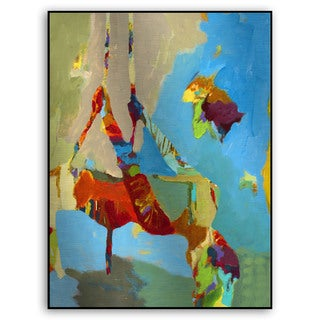 Gallery Direct M. Drake's 'Abstract Figure II' Metal Art
