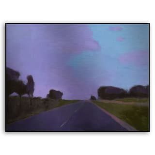 Gallery Direct M. Drake's 'Lost Highway II' Metal Art