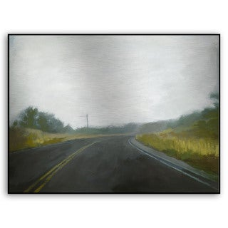 Gallery Direct M. Drake's 'Lost Highway I' Metal Art