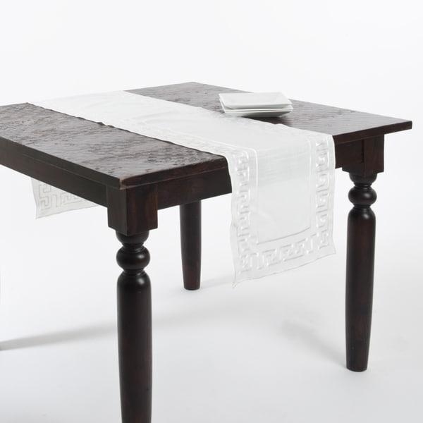 Superior Greek Key Design Table Runner Or Tablecloth