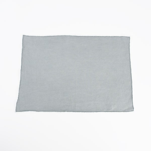 Fringed Design Stone Washed Linen Napkins or Placements (Set of 4)
