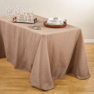 Basket Weave Design Tablecloth