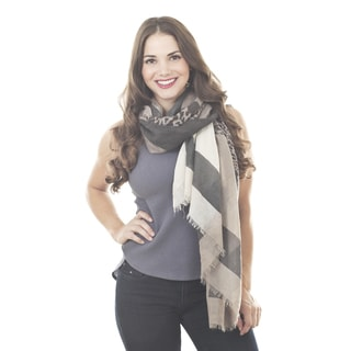 Animal Print Design Shawl