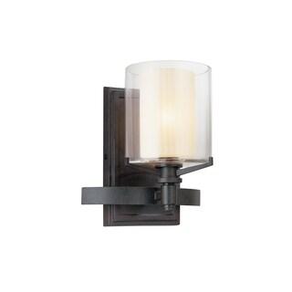 Troy Lighting Arcadia French Iron 1-light Bath Sconce