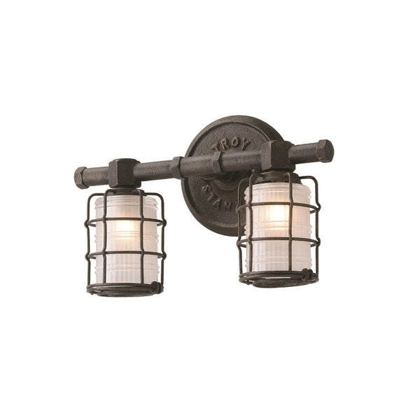 Troy Lighting Mercantile 2-light Bath Sconce