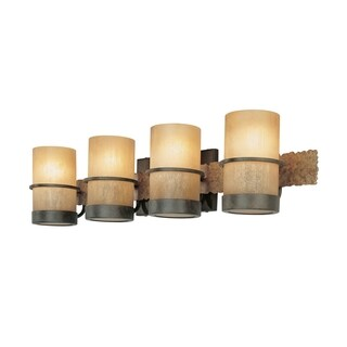 Troy Lighting Bamboo 4-light Bath Vanity