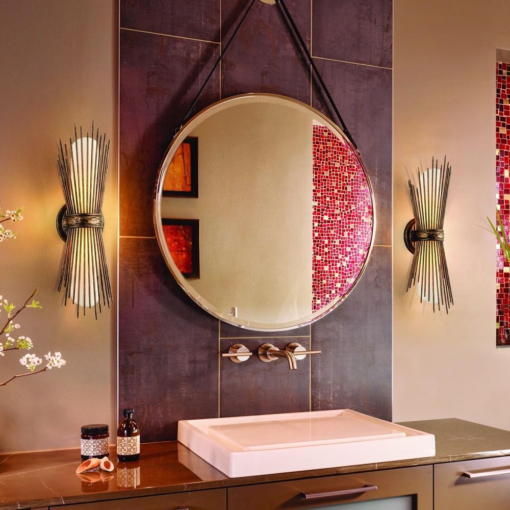 Blink Bath 2 Light Bronze Wall Vanity