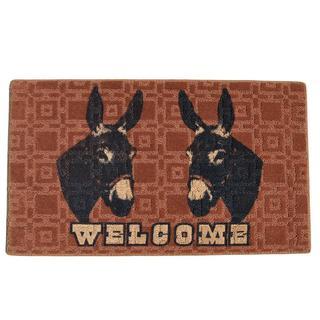Donkey Welcome Indoor Mat (1'6 x 2'3)