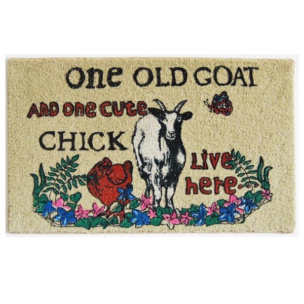 One Old Goat Indoor Mat (1'6 x 2'3)