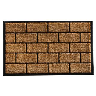 Brick Master Coir and Rubber Doormat (2'4 x 4')