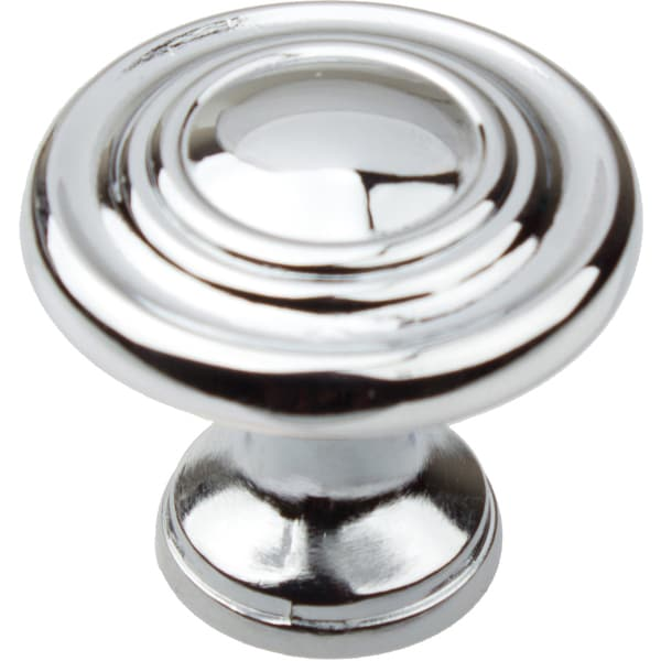 Shop Gliderite 1 25 Inch Polished Chrome 3 Ring Round