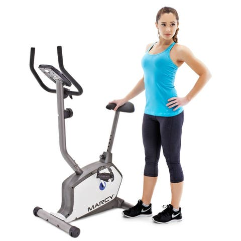 Marcy Upright Magnetic Cycle - Black
