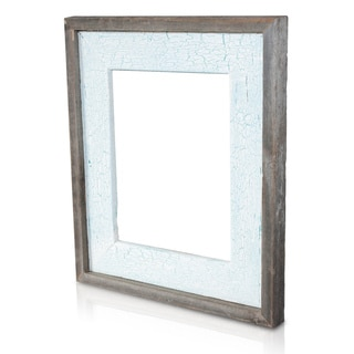 Natural Crackled Cozumel Recycled/ Reclaimed Wood 8x10-inch Photo Frame