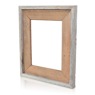 Rusty Nail Recycled/ Reclaimed Wood 5x7 Photo Frame