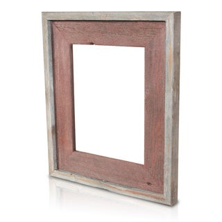 Rosewood Recycled/ Reclaimed Wood 5x7 Photo Frame
