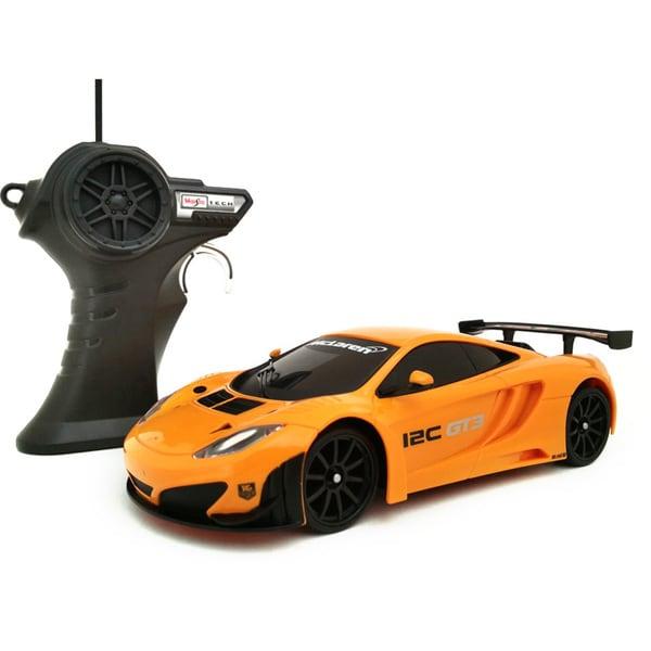 Shop Maisto 1:24 Remote Control McLaren MP4-12C GT3 Racing ...
