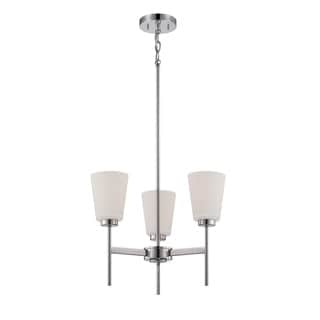 Nuvo Benson 3 Light Chandelier