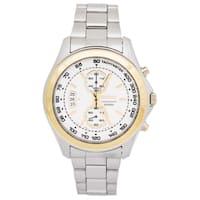 Seiko Men's  Sport Silvertone Stainless Steel Watch