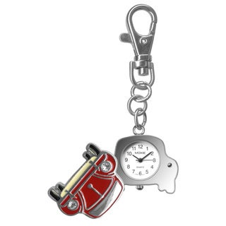 Dakota Moxie Red Car Hanging Charm Clock