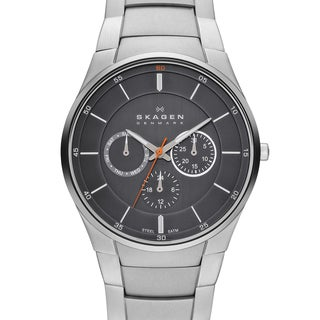 Skagen Men's SKW6054 Steel Link Multifunction Watch