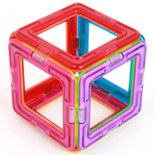 Magformers Squares 6-piece Magnetic Construction Set