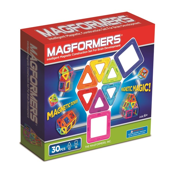 Magformers Rainbow 30-piece set. Opens flyout.