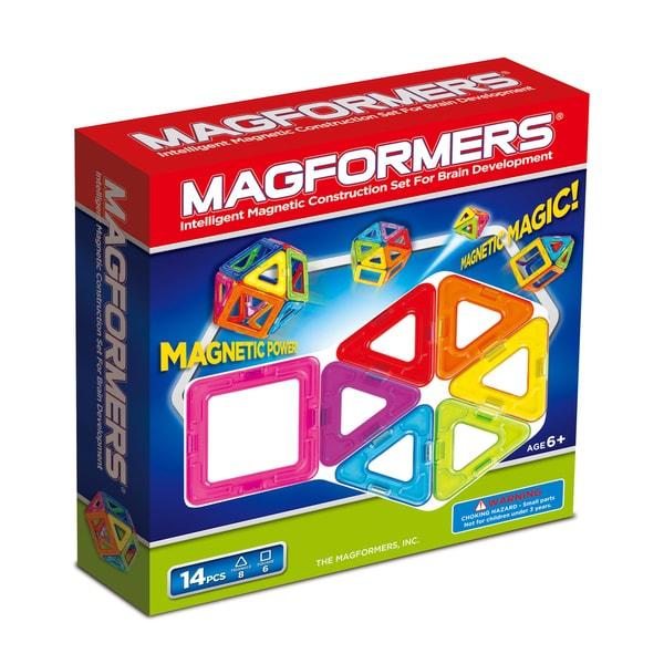 Magformers Rainbow 14-piece Set