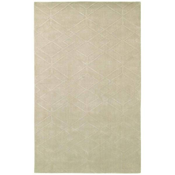 Handmade Couristan Matrix Gemstone Beige Area Rug - 8' x10'