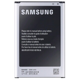 Samsung Galaxy Note 3 Original OEM Rechargeable Battery EB-80BUB