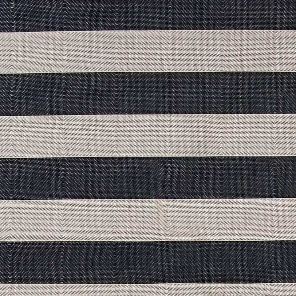 Hampton Striped Black Cream Indoor