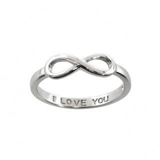 Eternally Haute 'I Love You' Infinity Ring