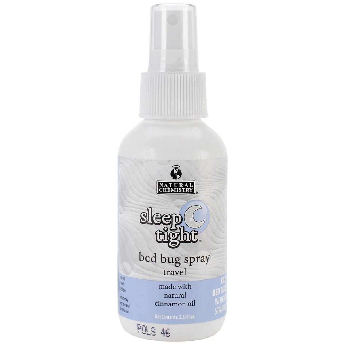 Natural Chemistry Sleep Tight Bed Bug Spray -Travel Size ...