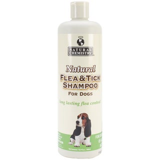 Natural Flea & Tick Shampoo For Dogs 16.9oz