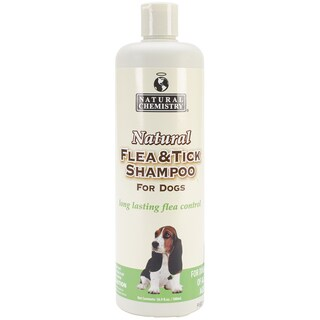 Natural Flea & Tick Shampoo For Dogs 16.9oz