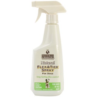 Natural 16-ounce Flea and Tick Spray For Dogs