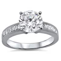 Noori 18k White Gold 1 2/5ct TDW Certified Diamond Engagement Ring