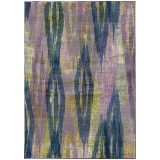 Pantone Universe Prismatic Purple/ Blue Rug - 7'10 x 10'10