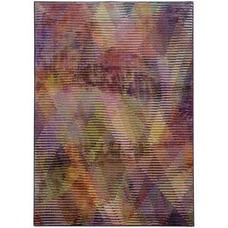 """Pantone Universe Prismatic Purple/ Lavender Rug (7'10 x 10'10) - 7'10"""" x 10'10"""""""