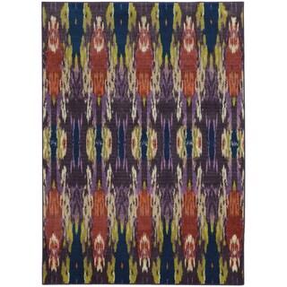 Pantone Universe Prismatic Purple/ Blue Rug (7'10 x 10'10)