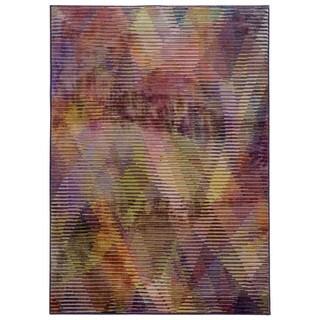 Pantone Universe Prismatic Purple/ Lavender Rug (5'3 x 7'6)