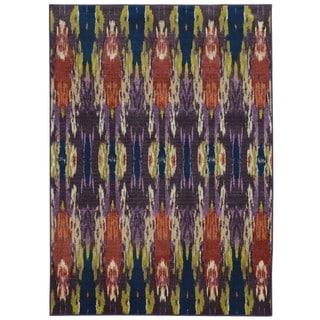 Pantone Universe Prismatic Purple/ Blue Rug (5'3 x 7'6)