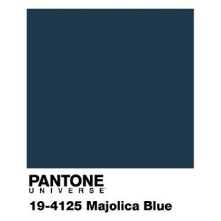 Pantone Universe Prismatic Blue/ Red Rug (6'7 x 9'6)